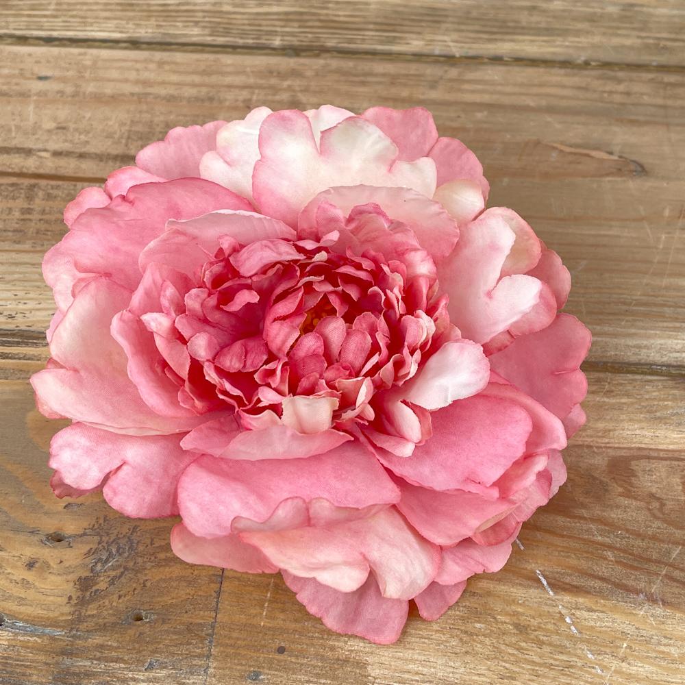 """головка пион """"покрученный большой"""" ярко розовый"""