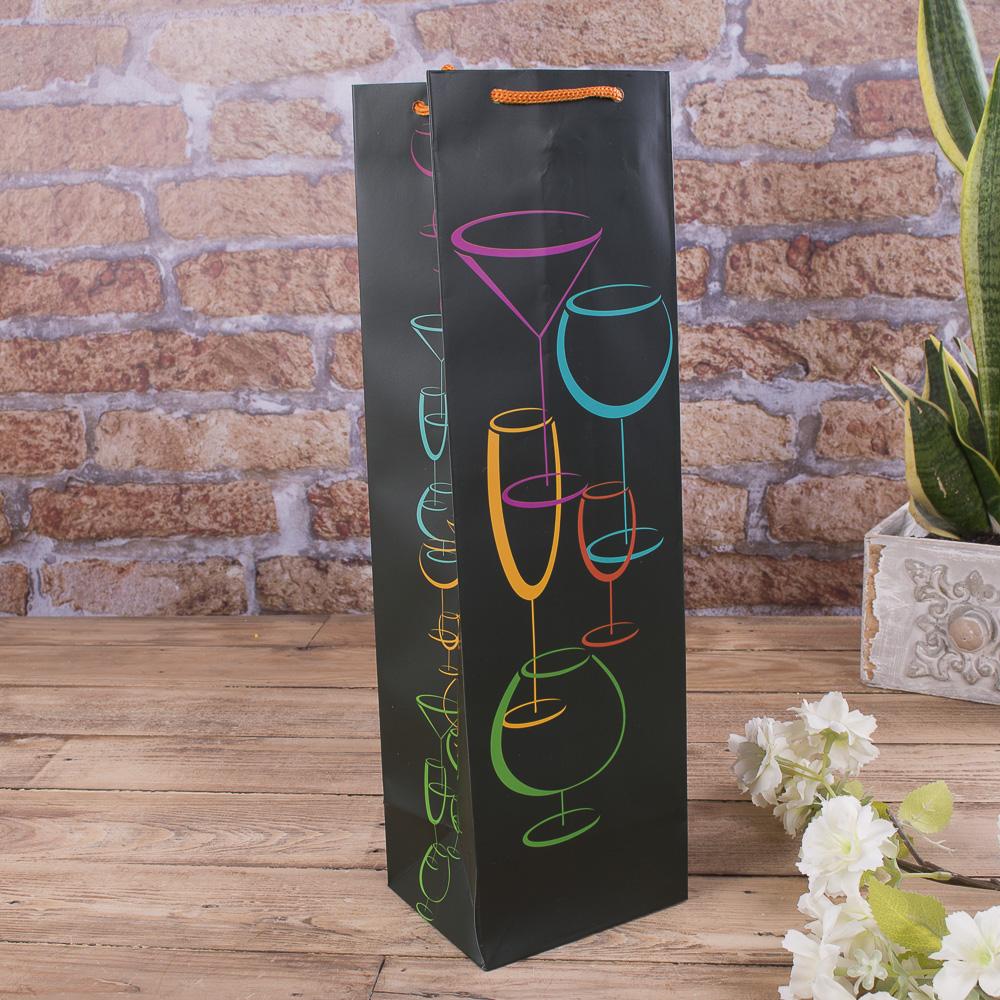 (wb70) пакет под бутылку