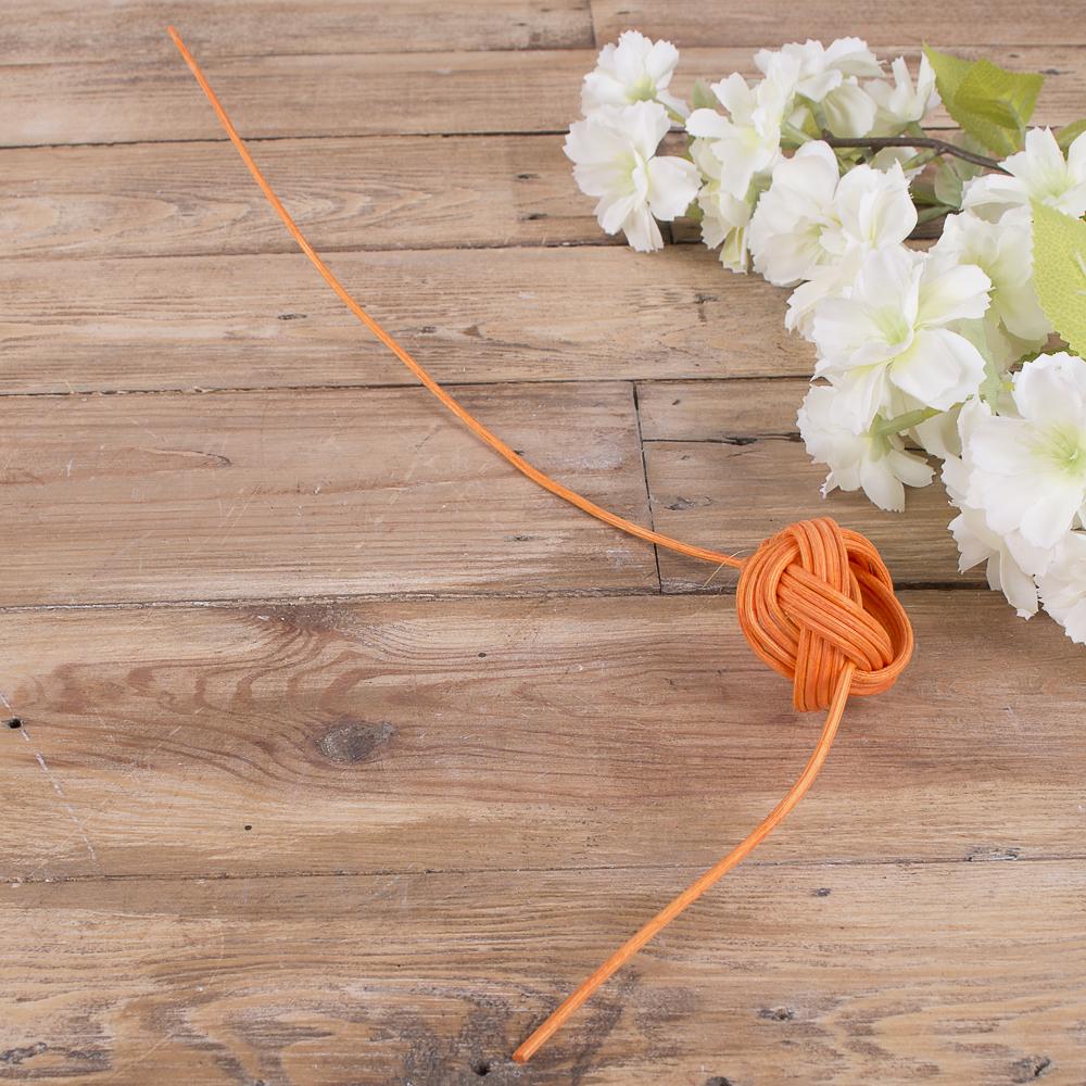 шарик из ротанга  (оранжевый)