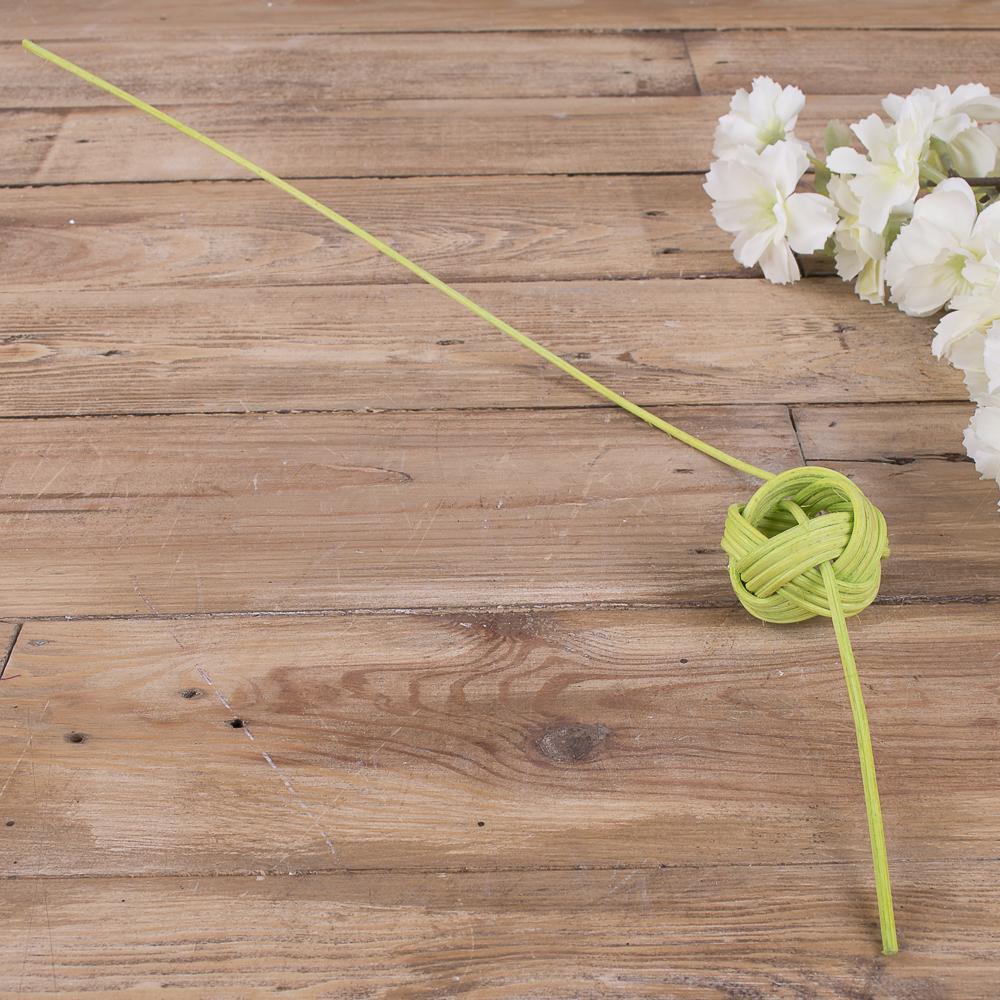 шарик из ротанга  (зеленый)