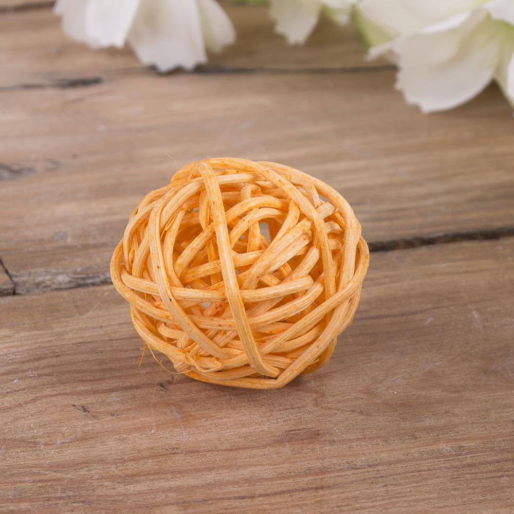 кулька з ротанаг 3см оранжевий