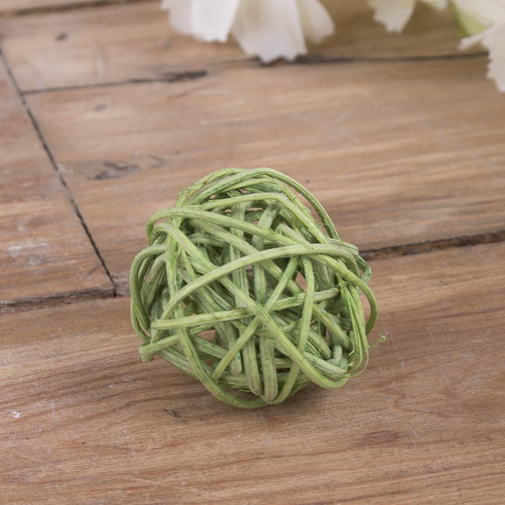 кулька з ротанаг 3см зелений