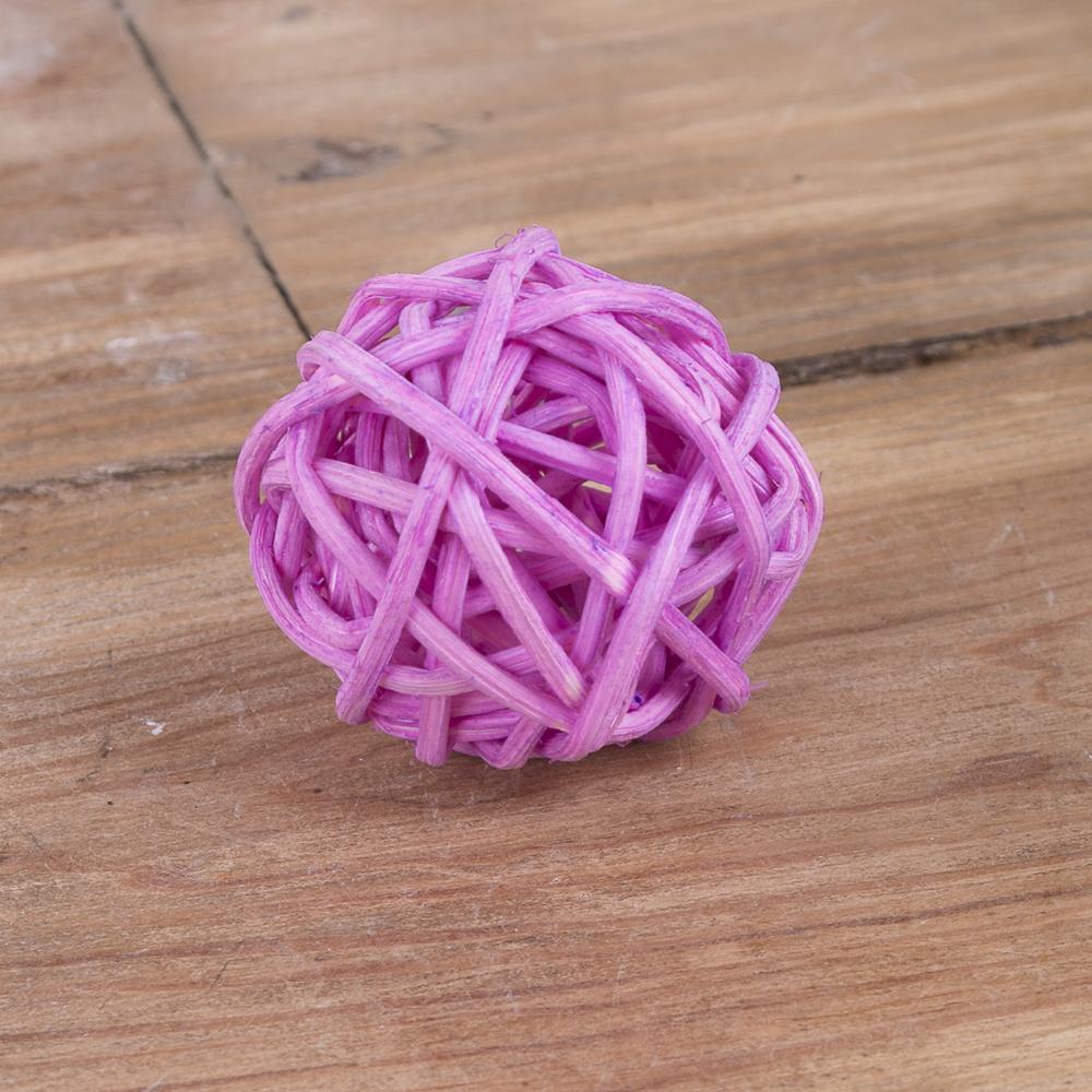 кулька з ротанаг 3см бузковий