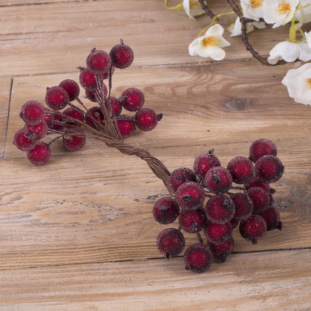пучок ягоды-штанга в сахаре бордо