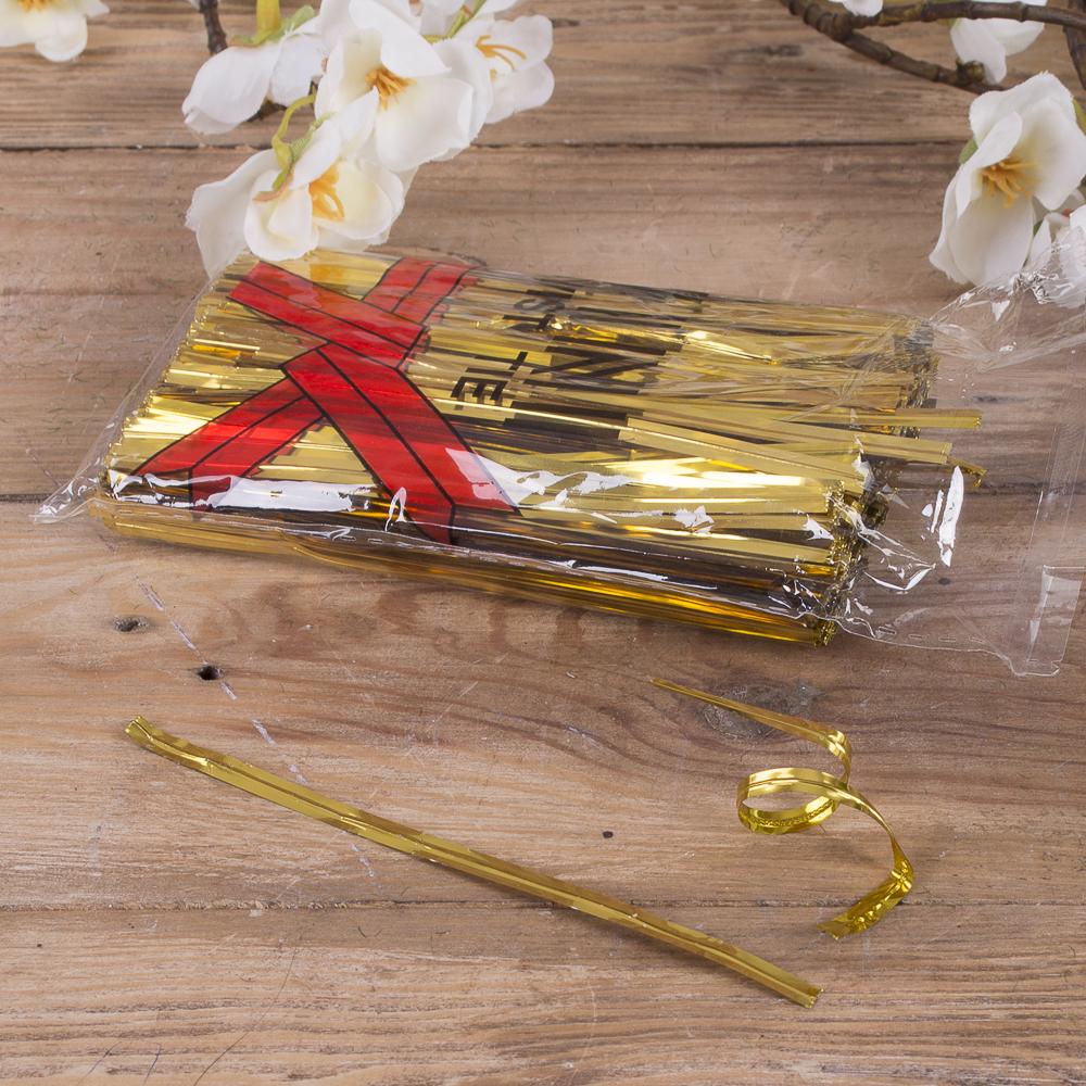 дріт флористичний різаний (золотий)