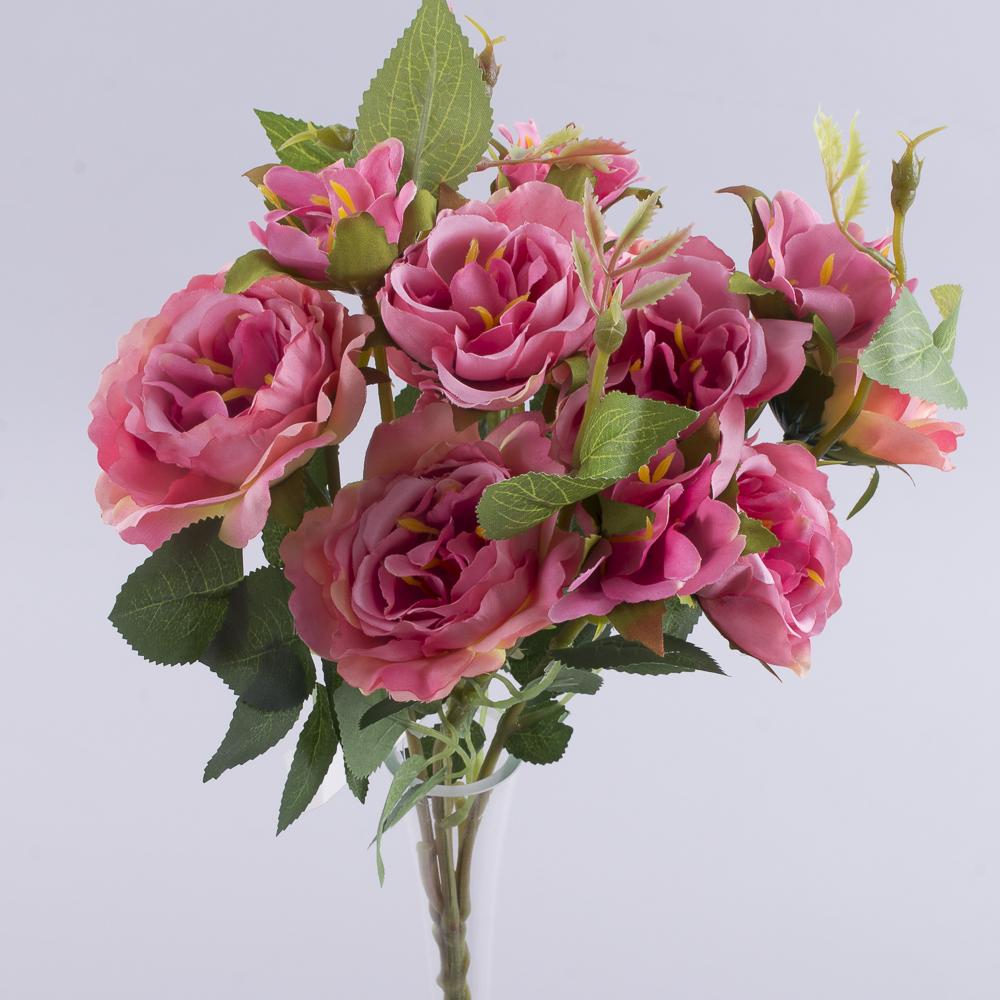 букет кущових троянд рожевий