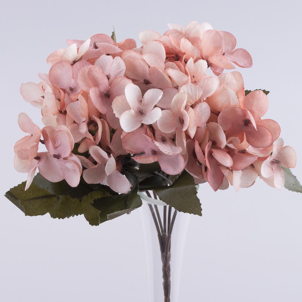 Букет гортензії мінік пастельний розовий