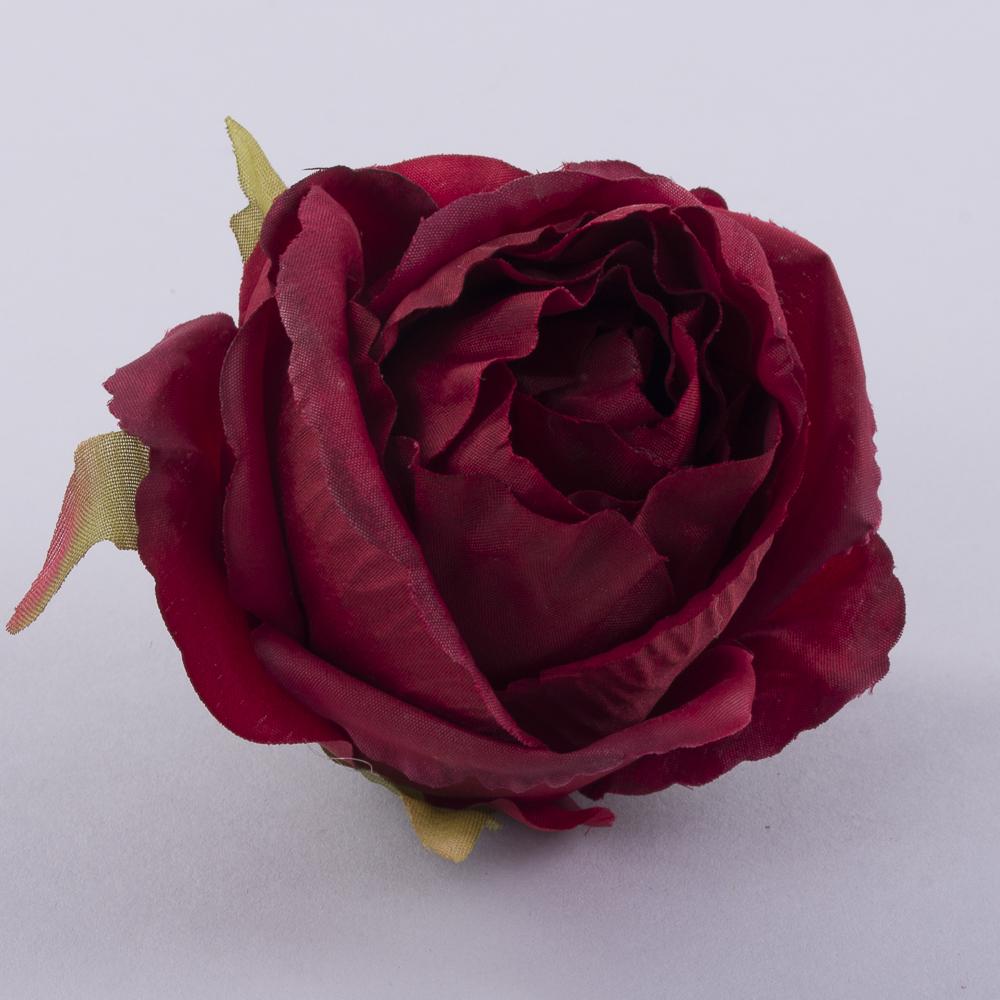 """Головка розы """"помпонелла"""" марсала"""