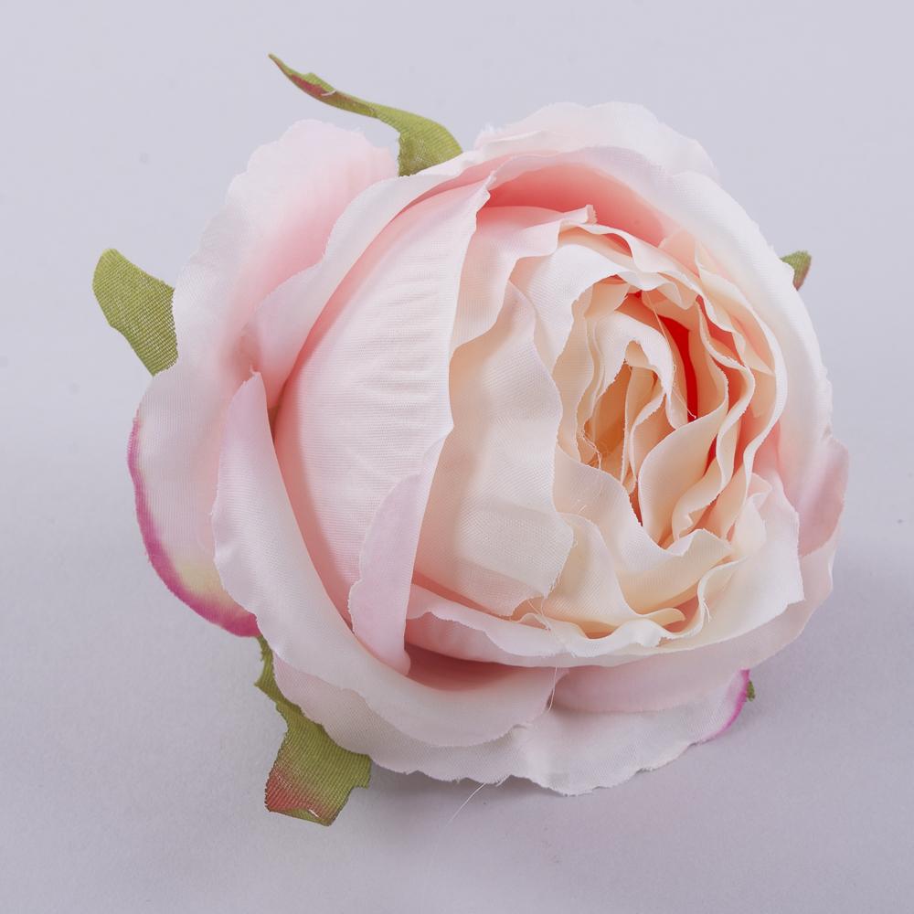 """Головка розы """"помпонелла"""" розовая"""