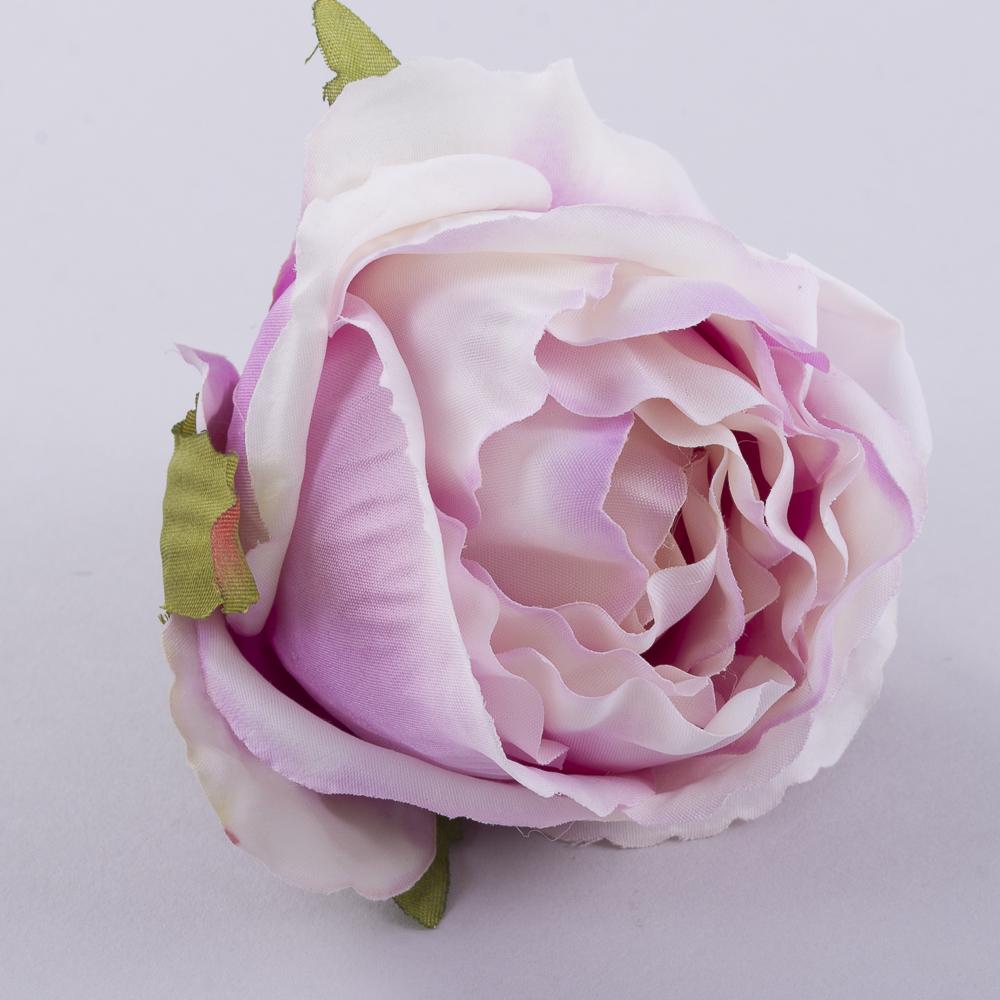 """Головка розы """"помпонелла"""" фиолетовая"""