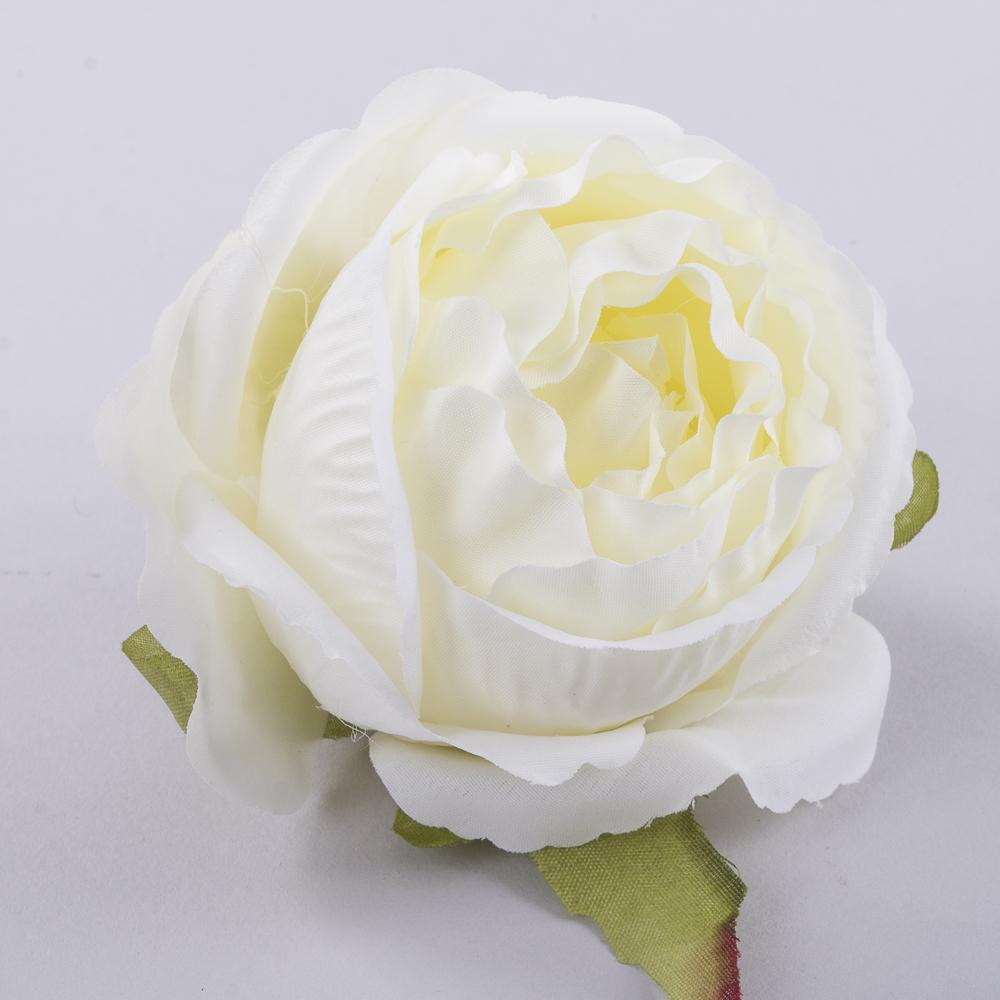 """Головка розы """"помпонелла"""" белая"""