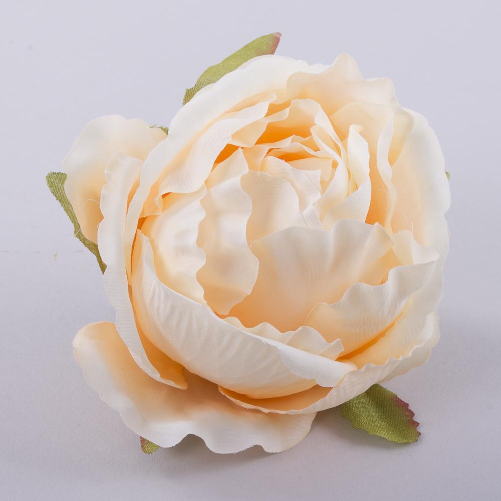 """Головка розы """"помпонелла"""" персиковая"""