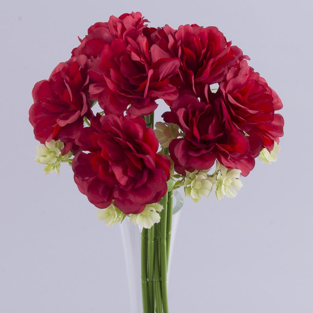 букет камелія міні (червоний)
