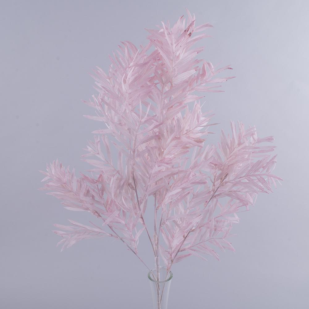 Ветка рускуса пластиковая  большая (розовая)
