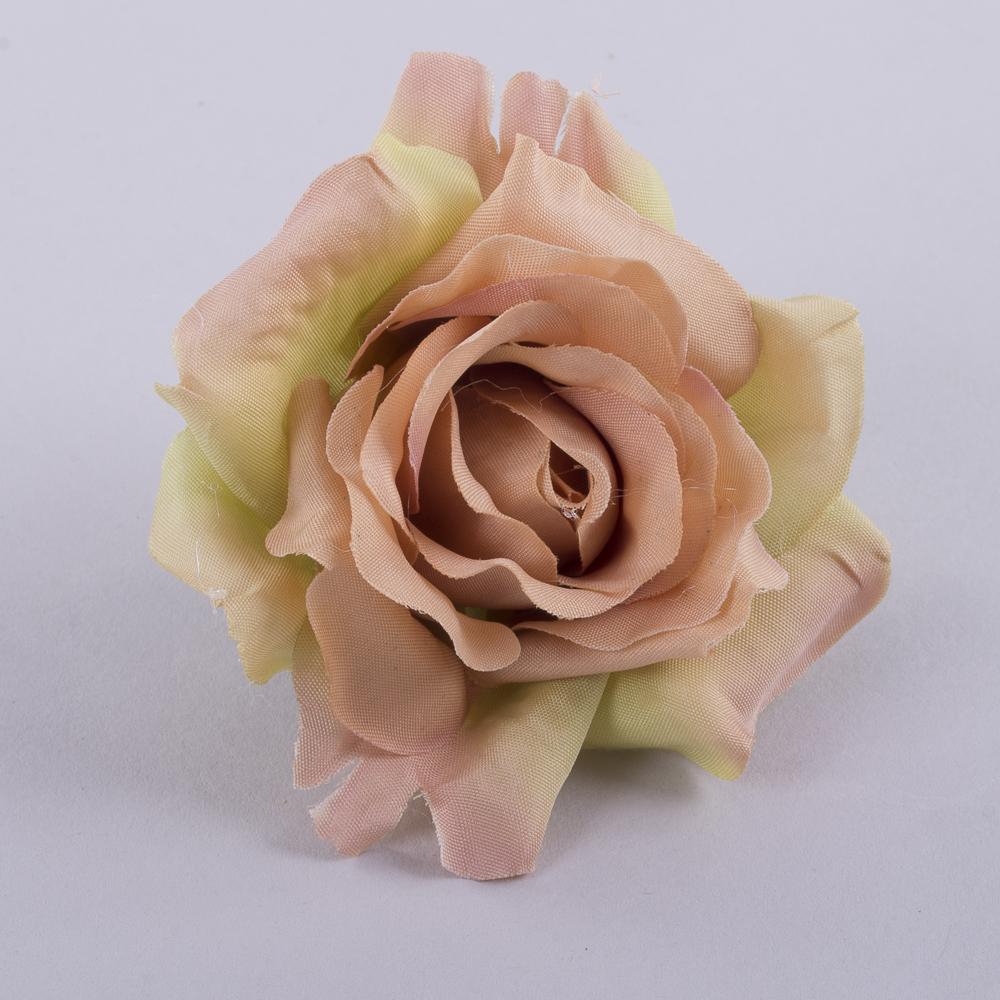 """головка розы """"остролистая"""" пастель"""