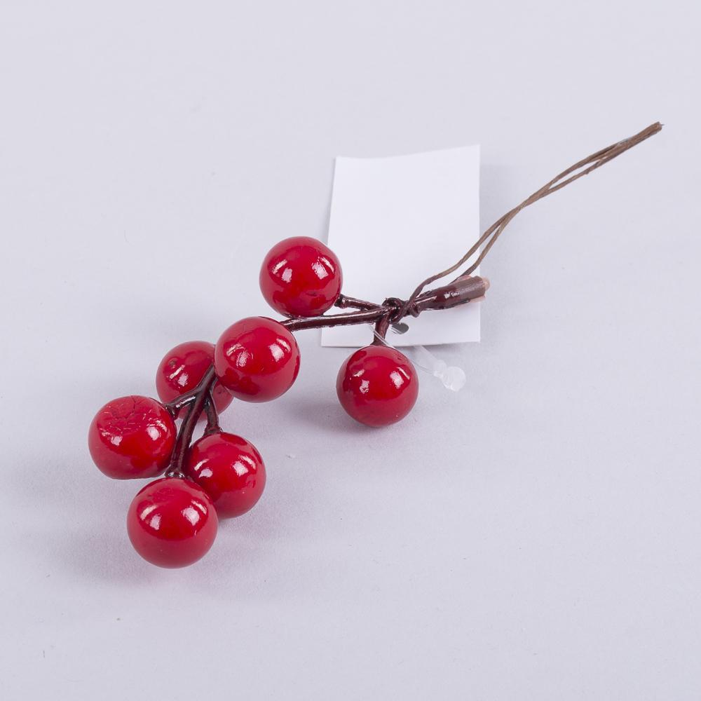 насадка ягоды калины крупные красные (12шт)