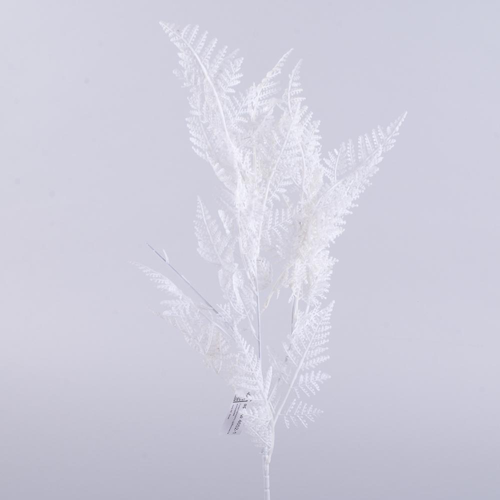 ветвь папоротника мелколистная (белая)