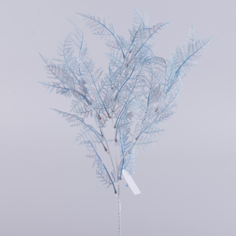 ветвь папоротника мелколистная (голубая)