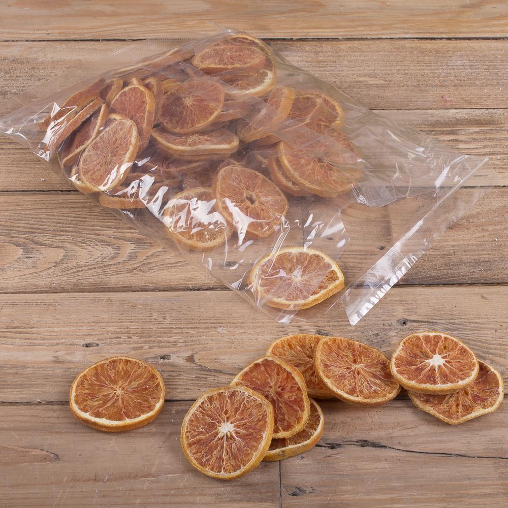 грейпфрут сушеный для декора  (200 грамм)