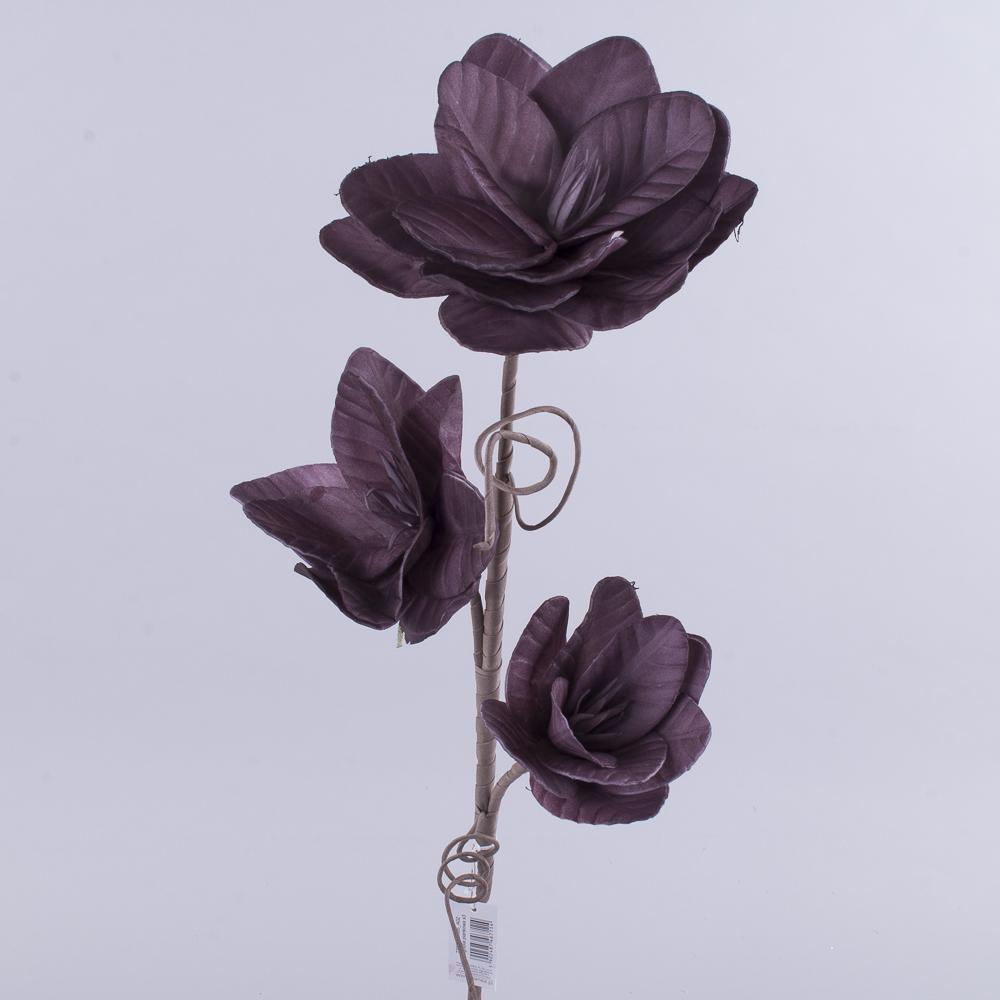 магнолия из вспененого латекса (фиолетовая)