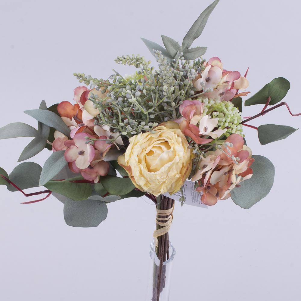 букет трояндаз евкаліптом