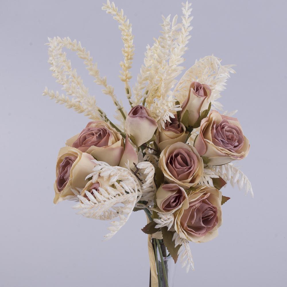 букет троянд з Вересом тілесний