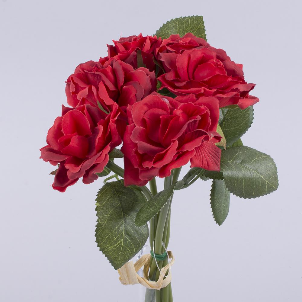"""букет троянд """"мінік"""" червоний"""