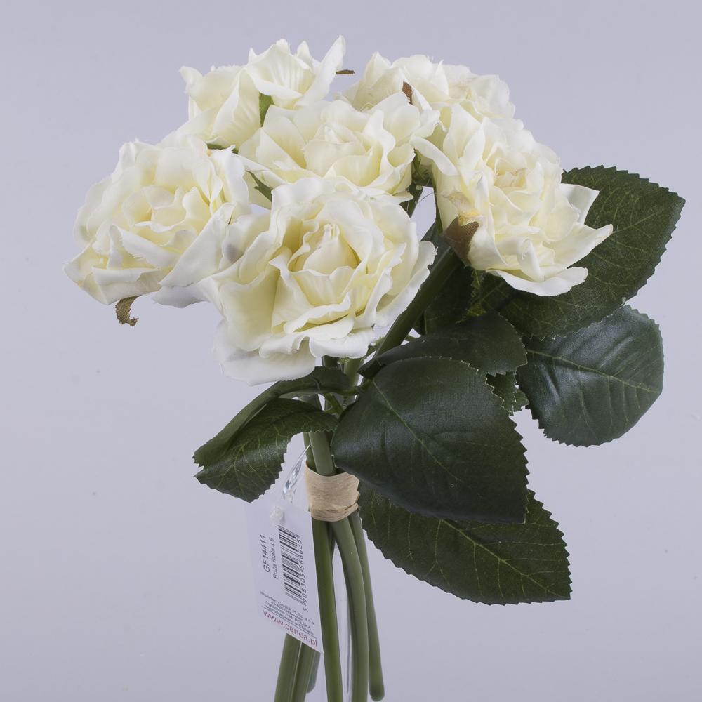 """букет троянд """"мінік"""" кремовий"""