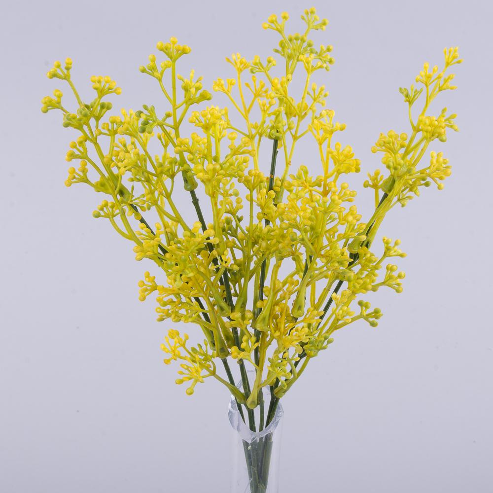 букет травка (мини-шарики) желтый