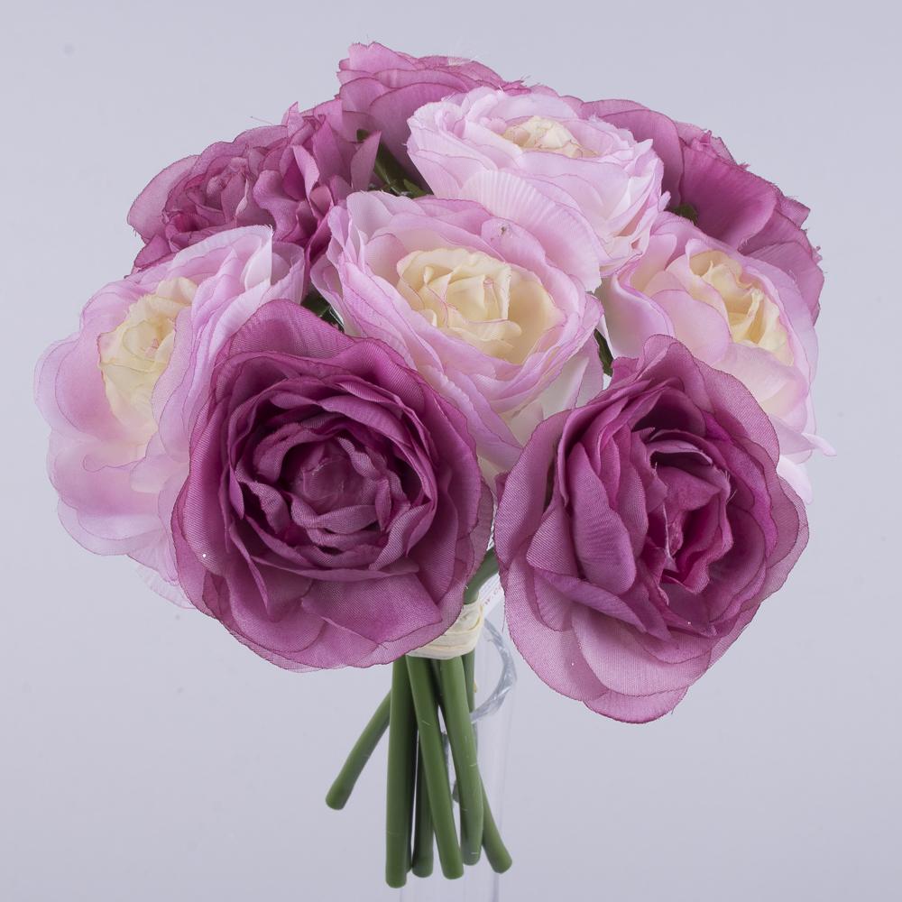 """букет камелії """"двоколірний"""" рожевий+фіолетовий"""