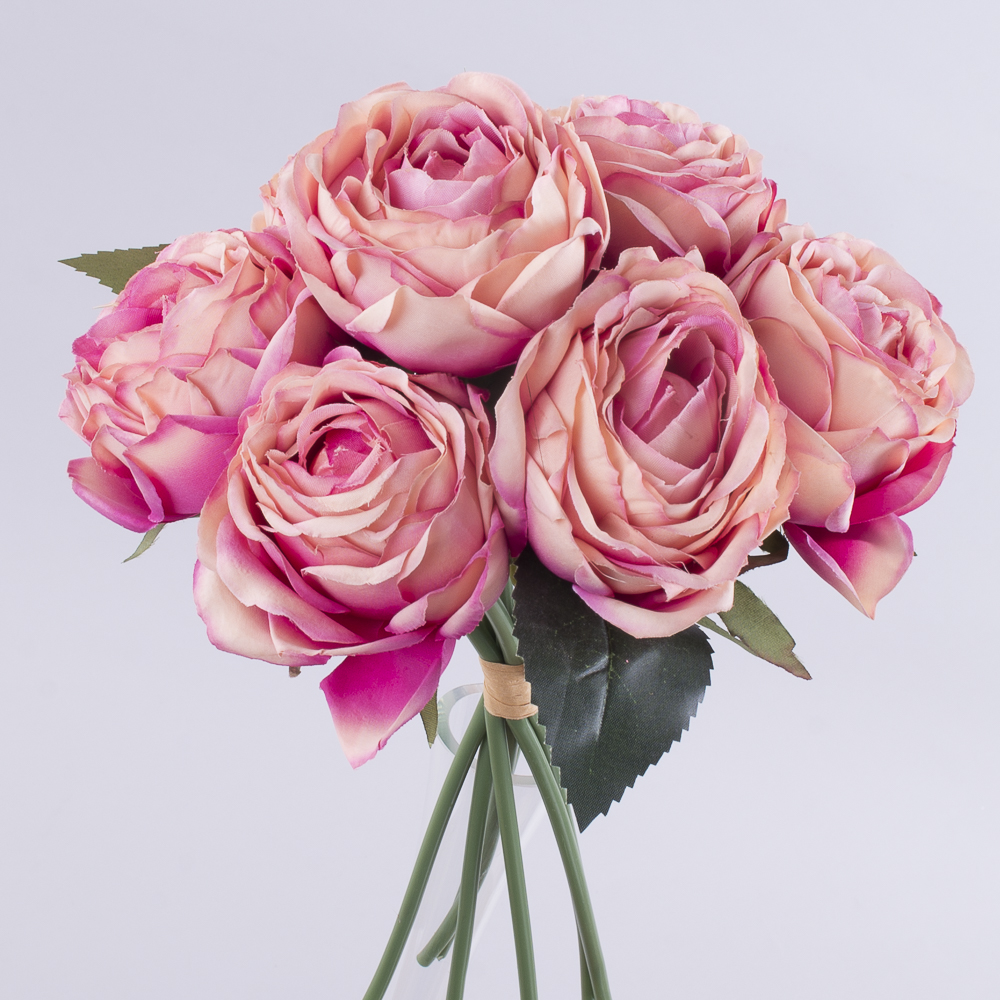 букет троянда помпонелла (коралова)