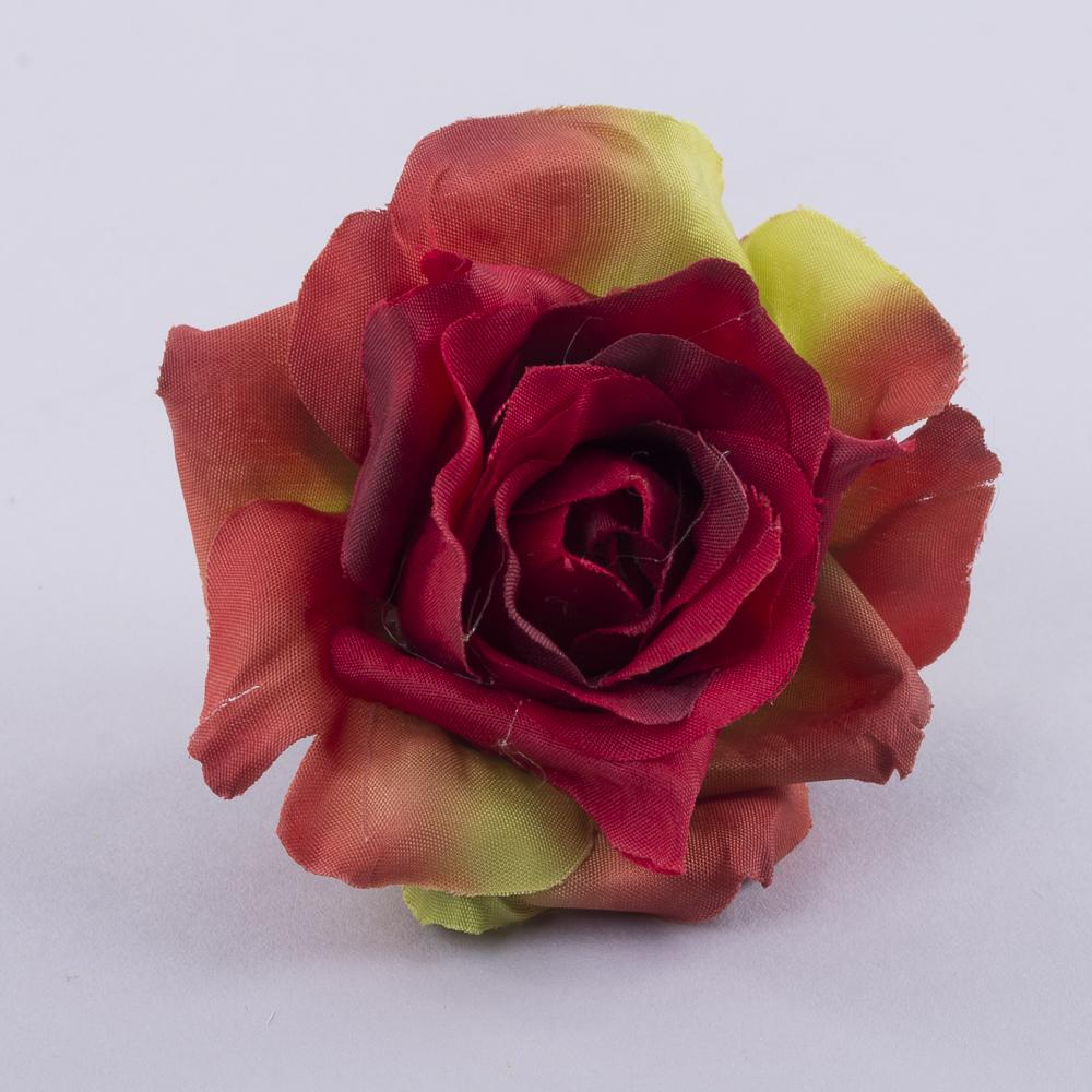 """головка розы """"остролистая"""" красная"""