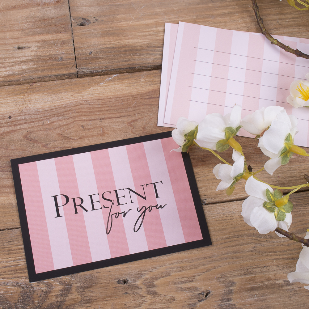 "листівка міні ""present for you...."""