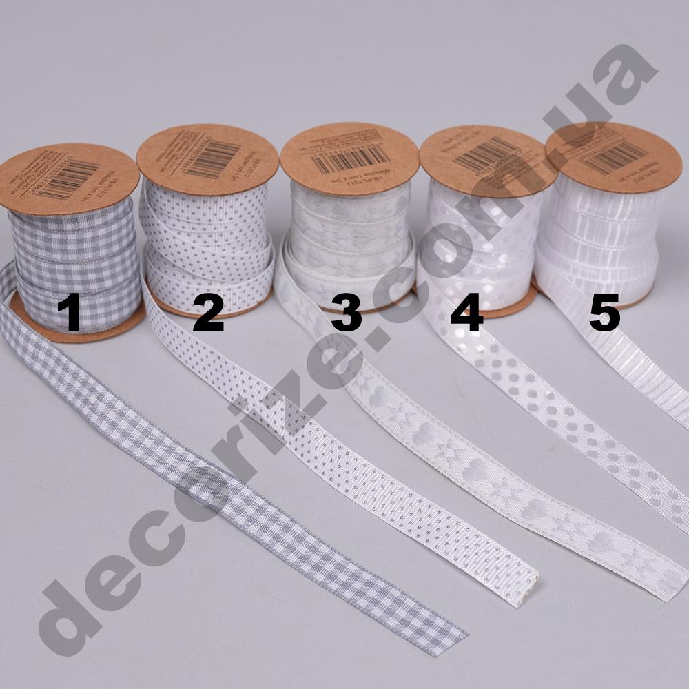 стрічки тканинні на котушці 1 см * 3 метра