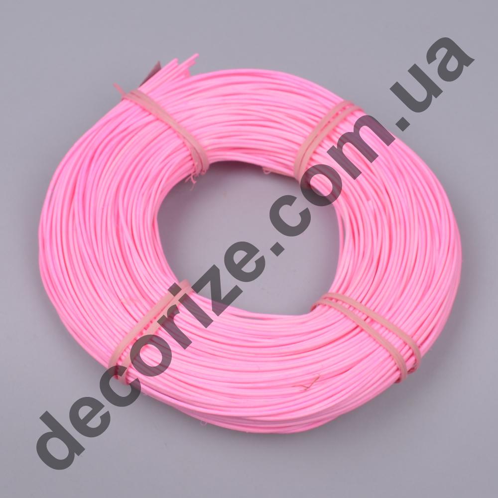 ротанг тонкий рожевий