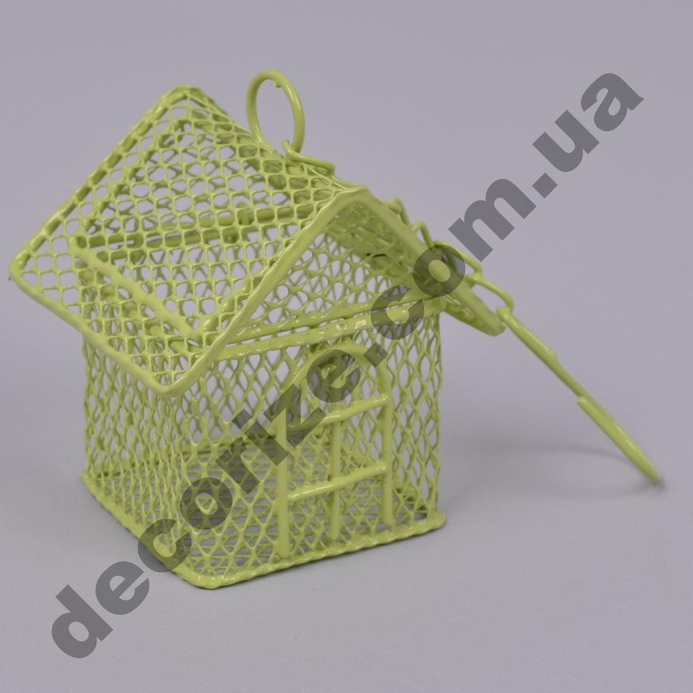 Металлическая шкатулка - клетка