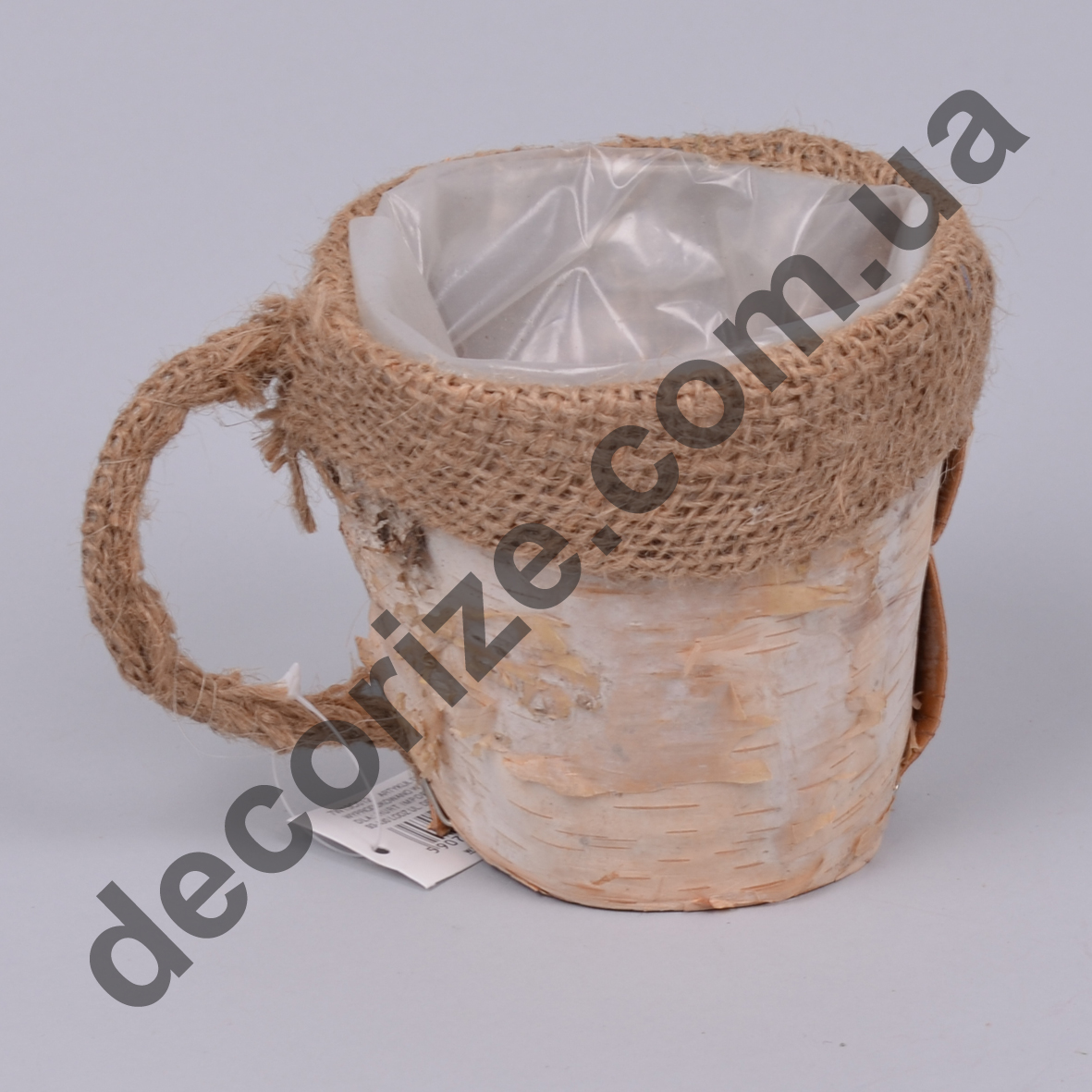 Флористичне кашпо чашка березова