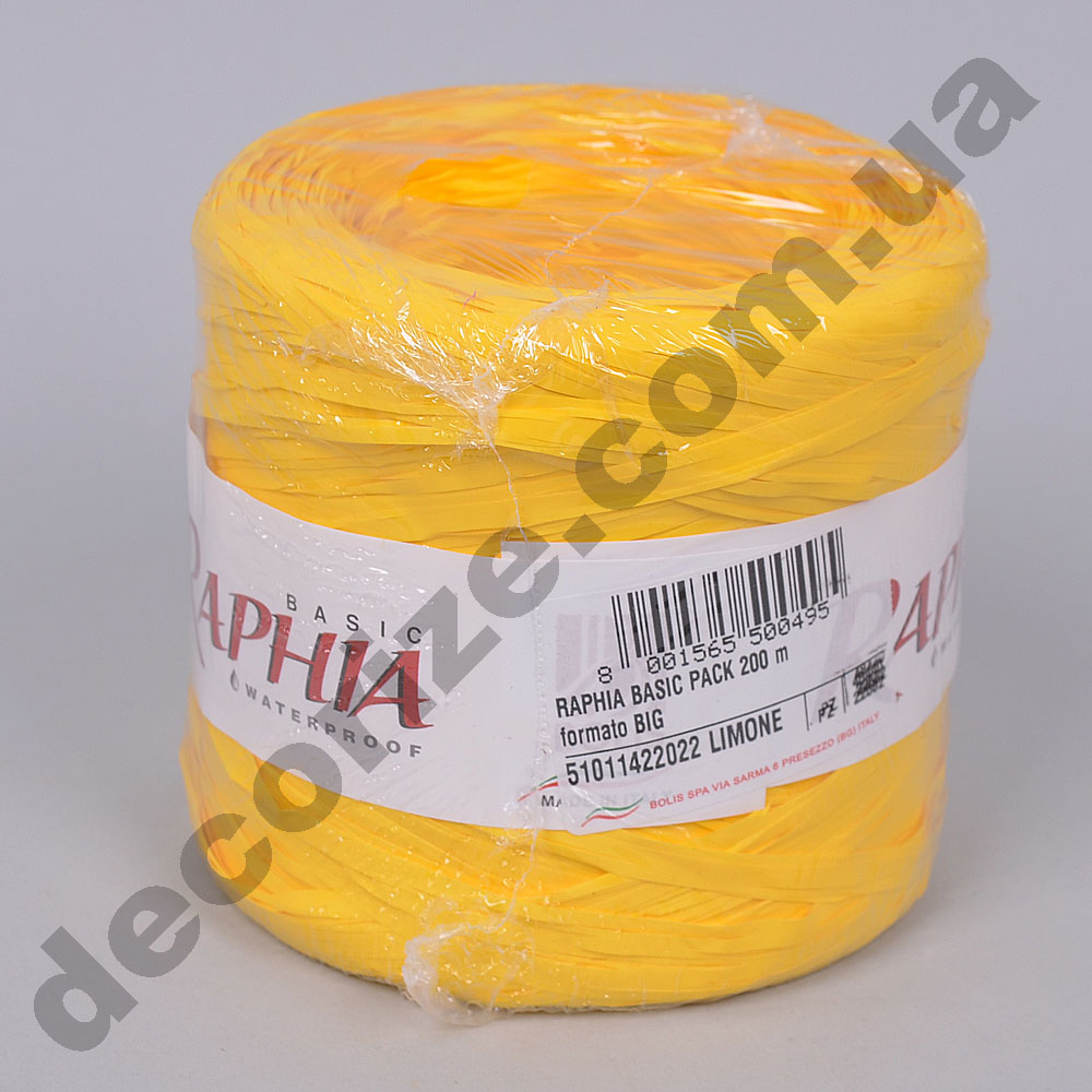 рафия 200м. limone