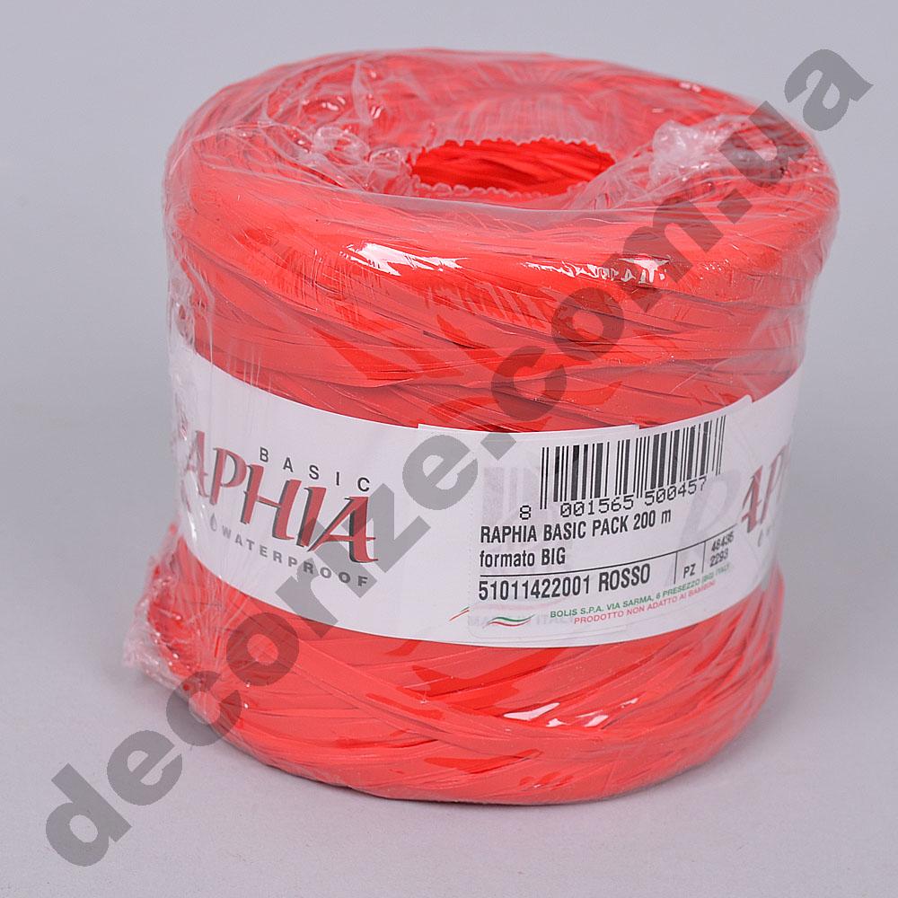 рафия 200м. rosso