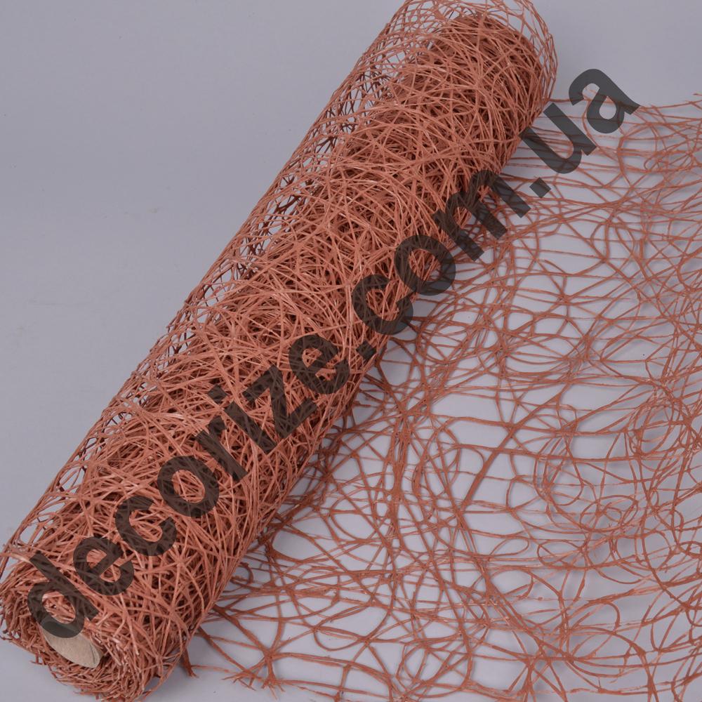 """сетка """"sisal mesh"""" коричневая темная"""