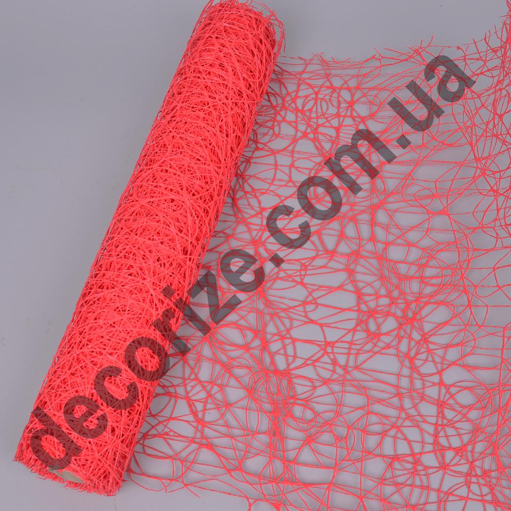 "сетка ""sisal mesh"" коралловая"
