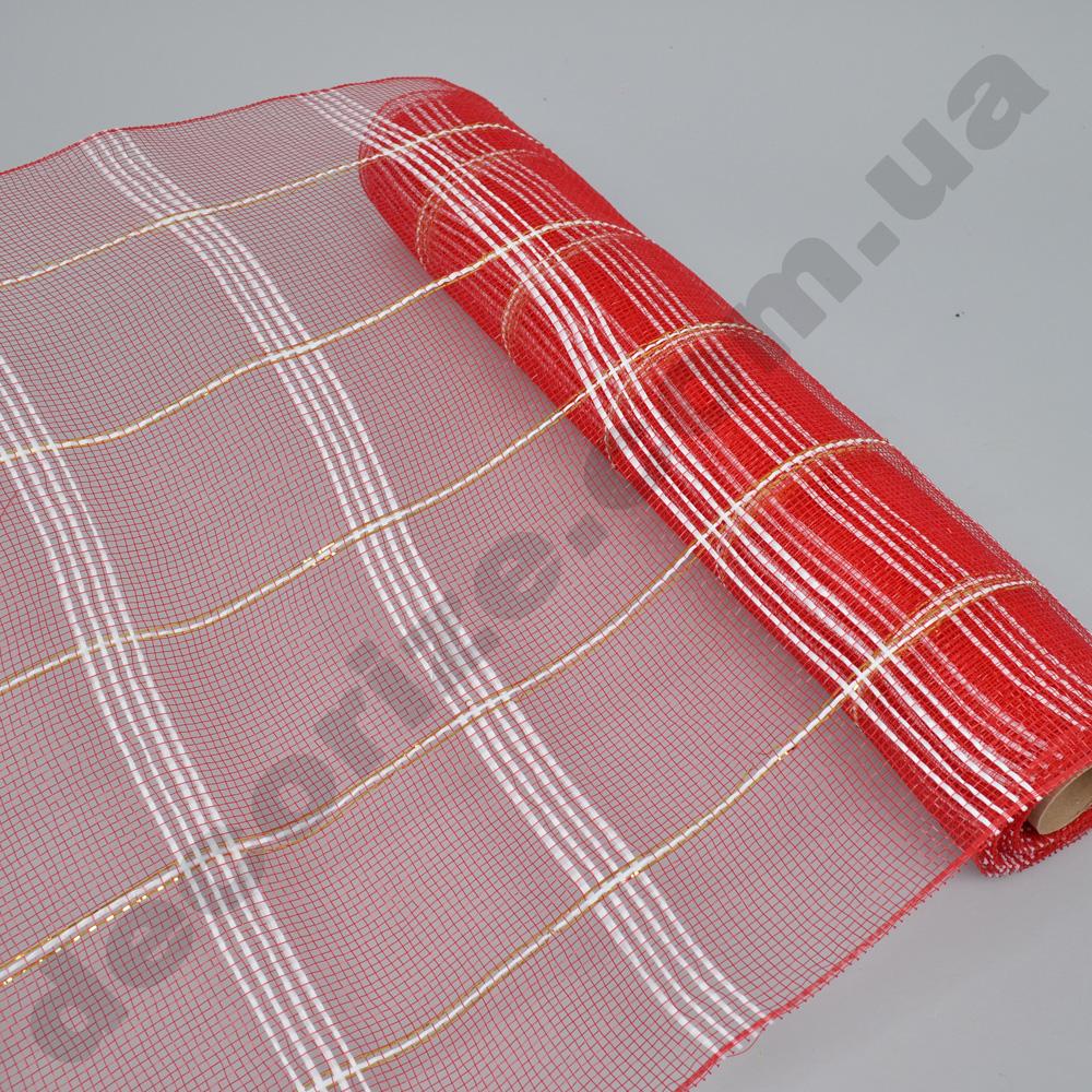 сетка красные квадраты