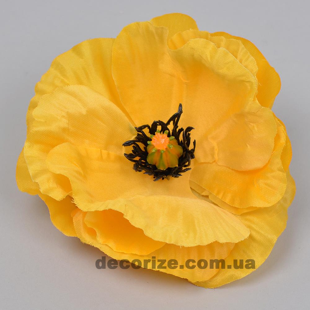 головка маку жовта