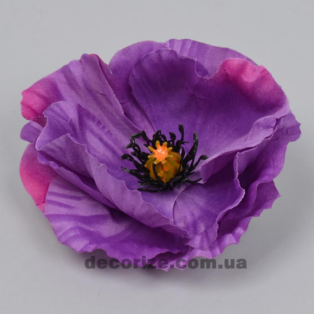 головка маку фіолетова