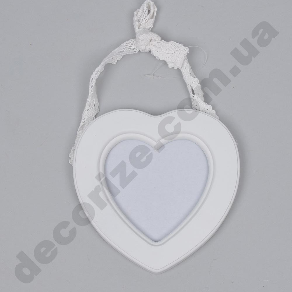 фоторамка подвесная сердце